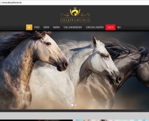 Deluxe Horse Webshop - Shopware